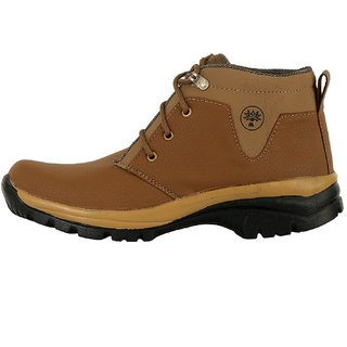 Vittaly Mens Brown Stylish Boots -7