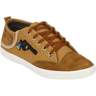 Hnt Men Beige Casual Shoes (JDHOT-BEG)