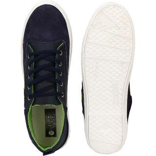 Hnt Men Navy Blue Casual Shoes (JDHOT-NVY)