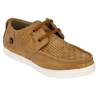 Hnt Men Beige Casual Shoes (JDV7-BG)