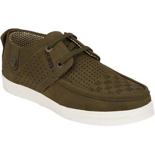 Hnt Men Green Casual Shoes (JDV7-GRN)