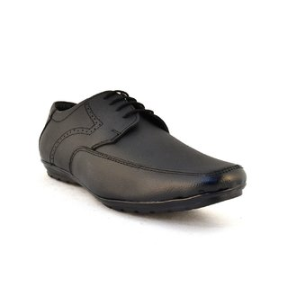 Zoot24 MenS Black Formal Lace-Up Shoes (0053HOLY-BLACK)