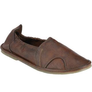 Wave Walk MenS Brown Slip On Casuals Shoes (SOCKS-BROWN)