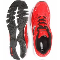 Lotto MenS Red  Black Lace-Up Sports Shoes (F5R2596)