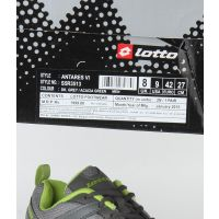 Lotto MenS Grey  Green Lace-Up Sports Shoes (S5R3513)