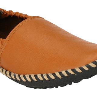 Wave Walk MenS Tan Slip On Casuals Shoes (ZEPO-3-TAN)