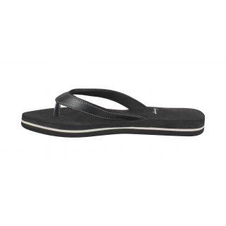 Walkaway Women Black Slippers (4110 Bk)