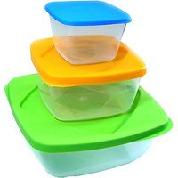 Food & Storage Containers (Set Of 3)