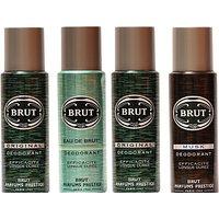 Brut Original,Eau De Brut,Musk Combo Set (Set Of 4)