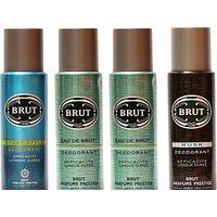 Brut Eau De Brut,Sports,Musk Combo Set (Set Of 4)