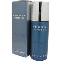 Azzaro Chrome United Deodorant Spray - For Boys (150 Ml)