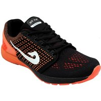 Max Air Lunar Black Orange Sports Running Shoes