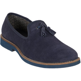 Numero Uno MenS Blue Casuals Lace-Up Shoes (NUSM-551-NAVY)