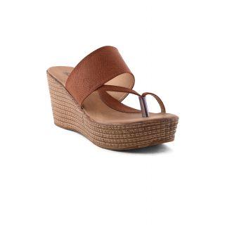 Bruno Manetti Women Tan Heels (4203-Tan)