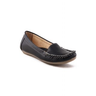 Bruno Manetti Women Black Casual Shoes (675-Black)
