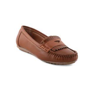 Bruno Manetti Women Tan Casual Shoes (DVS-001-LB-Tan)