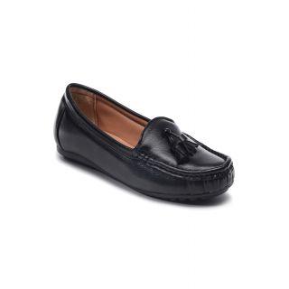 Bruno Manetti Women Black Casual Shoes (DVS-004-LB-Black)