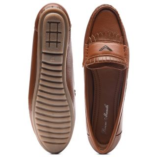 Bruno Manetti Women Tan Casual Shoes (DVS-006-LB-Tan)