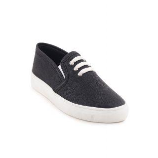 Bruno Manetti Women Black Casual Shoes (2985-Black)