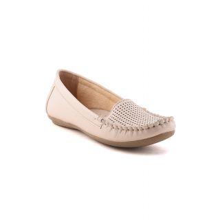Bruno Manetti Women Beige Casual Shoes (675-Beige)