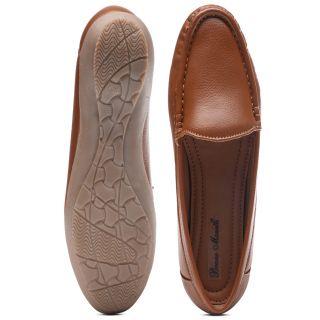 Bruno Manetti Women Tan Casual Shoes (DVS-002-LB-Tan)