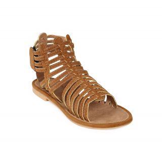 Jade WomenS Khaki Casual Velcro Sandals (JDB062-Khaki)