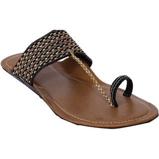 Jade WomenS Black Casual Slip On Flats (JDB059-Black)