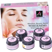 Absolute Beauty Skin Care Whitening Smooth Texture Insta Glow Facial Kit 350g + Citrus Soap Free