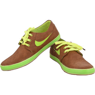 Exclusive Range Of Brown Colour Sneakers Shoe From The House Of Radiant