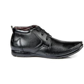 100 Walker MenS Black Formal Lace-Up Shoes (JET-BLACK)