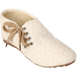 Jade WomenS Beige Casual Shoes (JDB092-Beige)