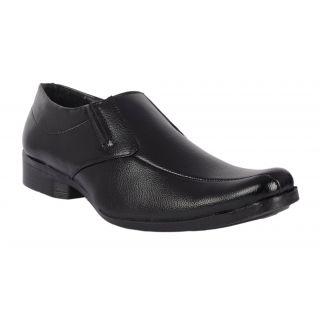 Salt MenS Black Formal Slip On Shoes (1503)