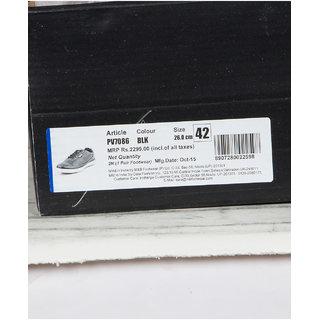 Provogue MenS Black Casual Lace-Up Shoes (PV7086-BLACK)