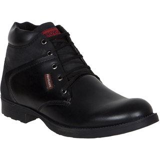 Provogue MenS Black Casual Lace-Up Shoes (PV7105-BLACK)
