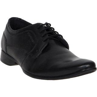 Provogue MenS Black Casual Lace-Up Shoes (PV7112-BLACK)
