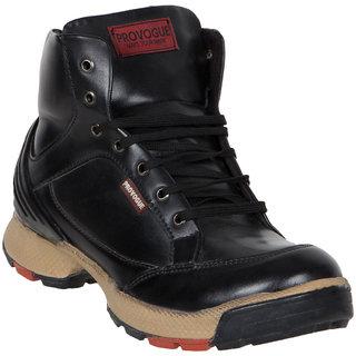 Provogue MenS Black Casual Lace-Up Shoes (PV7127-BLACK)
