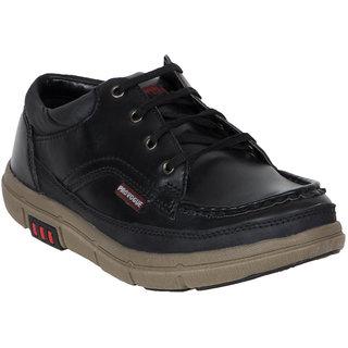 Provogue MenS Black Casual Lace-Up Shoes (PV7136-BLACK)