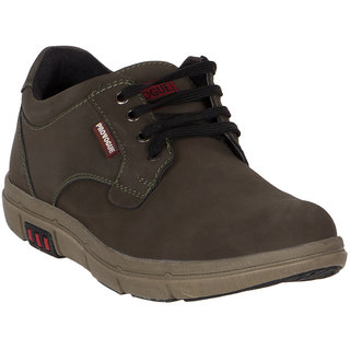 Provogue MenS Dark Green Casual Lace-Up Shoes (PV7144-OLIVE)