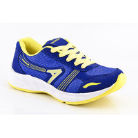 Provogue MenS Yellow Lace-Up Sports Shoes (PV1094-YELLOW-SKY)
