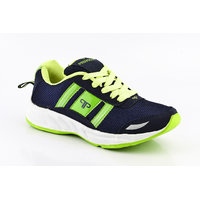 Provogue MenS Gray Lace-Up Sports Shoes (PV1098-GREY-BLUE)