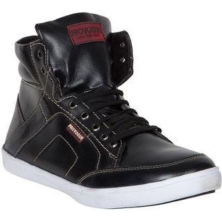 Provogue MenS Black Casual Lace-Up Shoes (PV7102-BLACK)
