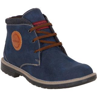 Provogue MenS Blue Casual Lace-Up Shoes (PV7104-BLUE)