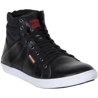 Provogue MenS Black Casual Lace-Up Shoes (PV7130-BLACK)