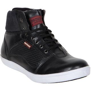 Provogue MenS Black Casual Lace-Up Shoes (PV7093-BLACK)