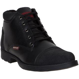 Provogue MenS Black Casual Lace-Up Shoes (PV7106-BLACK)