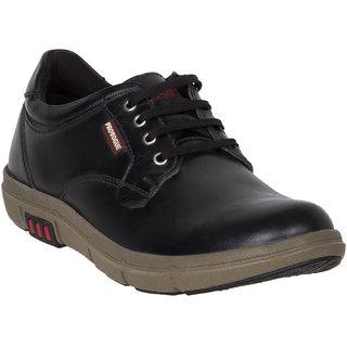 Provogue MenS Black Casual Lace-Up Shoes (PV7144-BLACK)