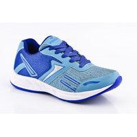 Provogue MenS Black Lace-Up Sports Shoes (PV1094-BLACK-ORANGE)