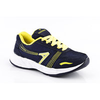 Provogue MenS Gray Lace-Up Sports Shoes (PV1095-LT.GREY-ORANGE)