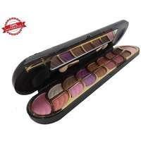 Cameo New Color Series 2 Blusher And 14 Eye Shadow Palette With 2 Free Lip Liner MeNow Pencils.