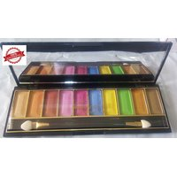 Cameo New Color Series 10 Eye Shadow Palette With 1 Matt Finish Nail Paint And 1 Lip Liner MeNow Pencil Free (Ltd. Stock